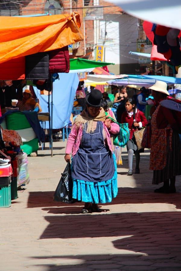 Cuscostraten Peru royalty-vrije stock fotografie