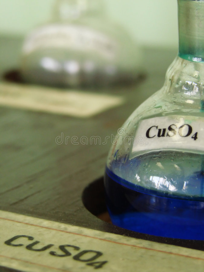 CuSO4 imagem de stock royalty free