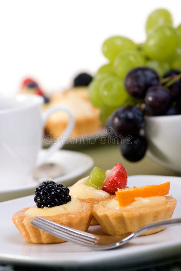 Download Custard Tarts stock photo. Image of bake, catering, blueberry - 3034380
