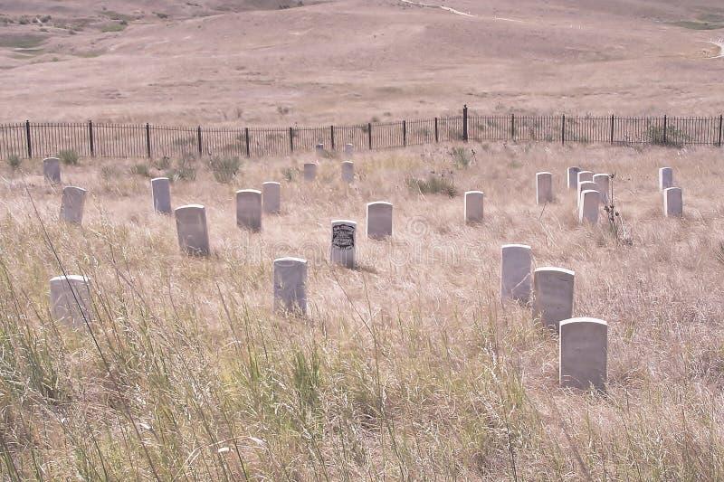 Custer的前个立场 免版税库存照片
