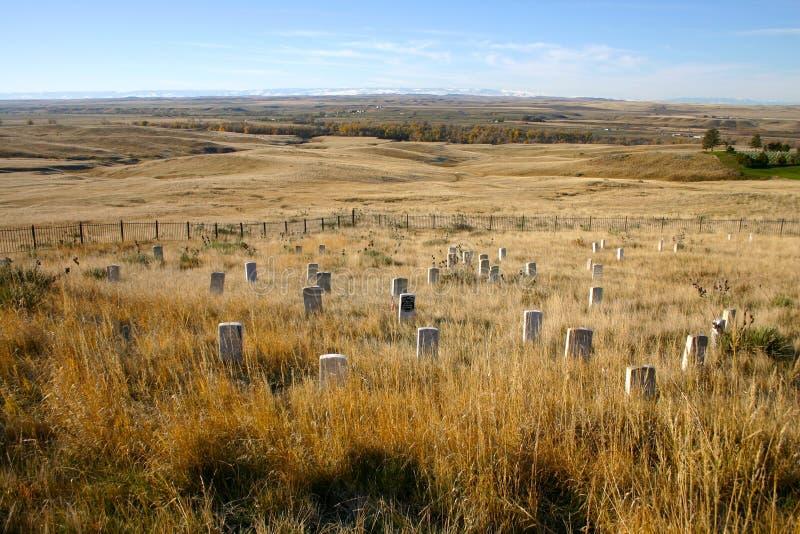 Custer的前立场小山 库存图片