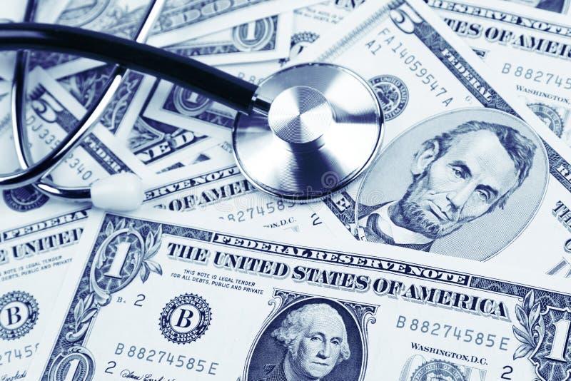 Custo da saúde imagem de stock royalty free