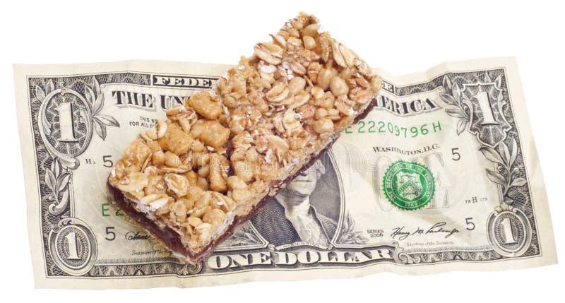 Custo do alimento do petisco fotos de stock