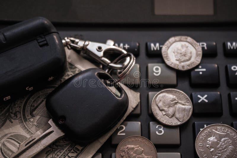 Custo do carro, manutenção foto de stock royalty free