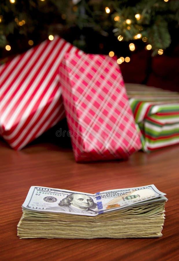 Custo do Natal fotos de stock