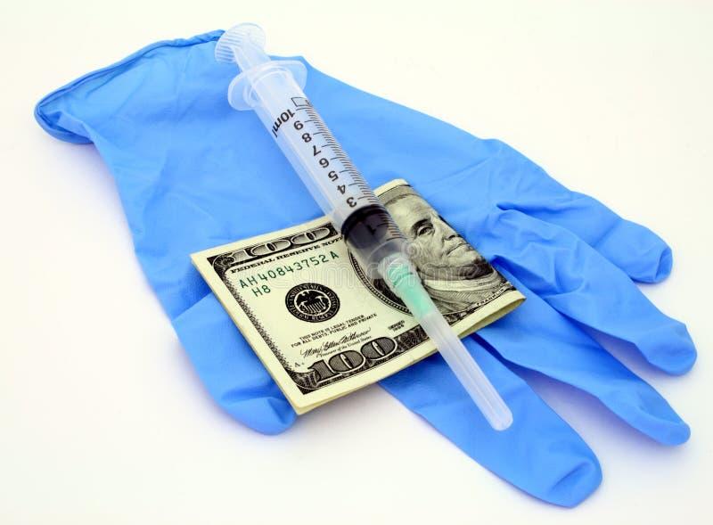Custo dos cuidados médicos imagens de stock royalty free