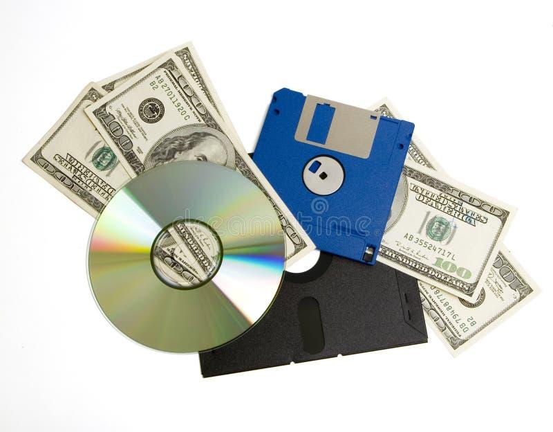Custo dos melhoramentos de software imagens de stock