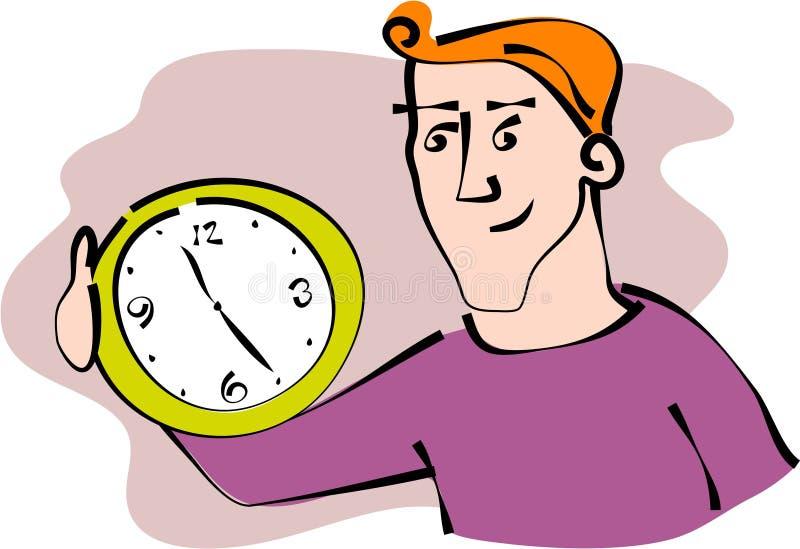 Custode di tempo illustrazione di stock