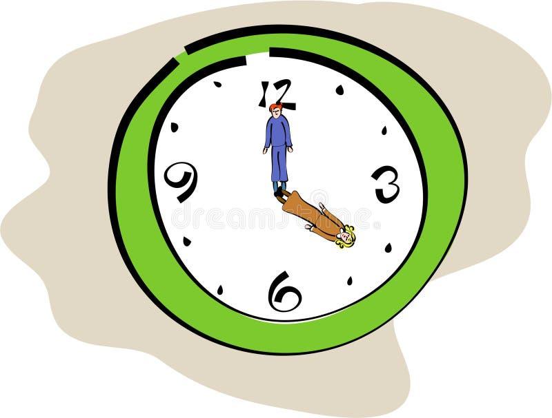 Custodi di tempo illustrazione di stock