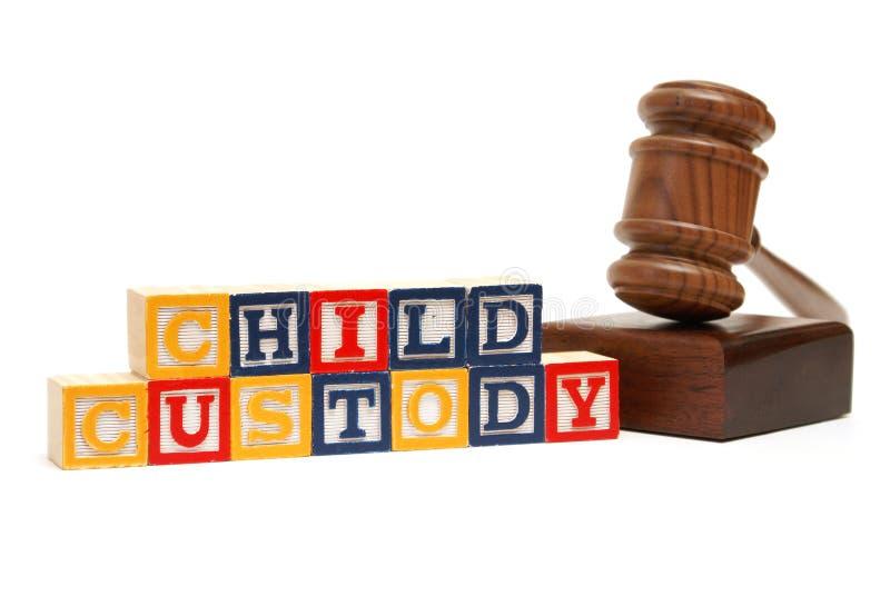 Custodia de los hijos fotografía de archivo libre de regalías