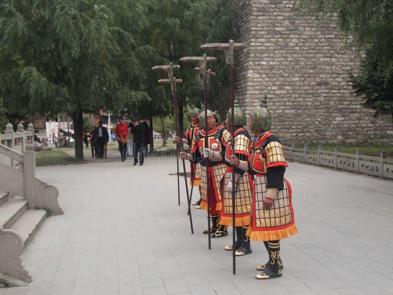 Custodice lo stile antico cambiante di cerimonia immagine stock
