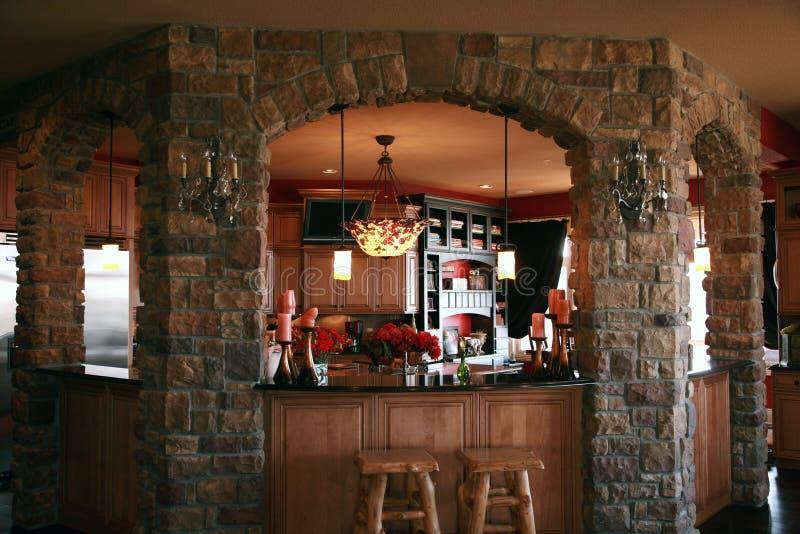 Download Custom bar stock photo. Image of decor, tile, kitchens - 8345478