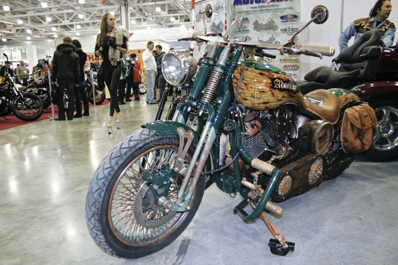 Custom Bike Abordage Editorial Photography