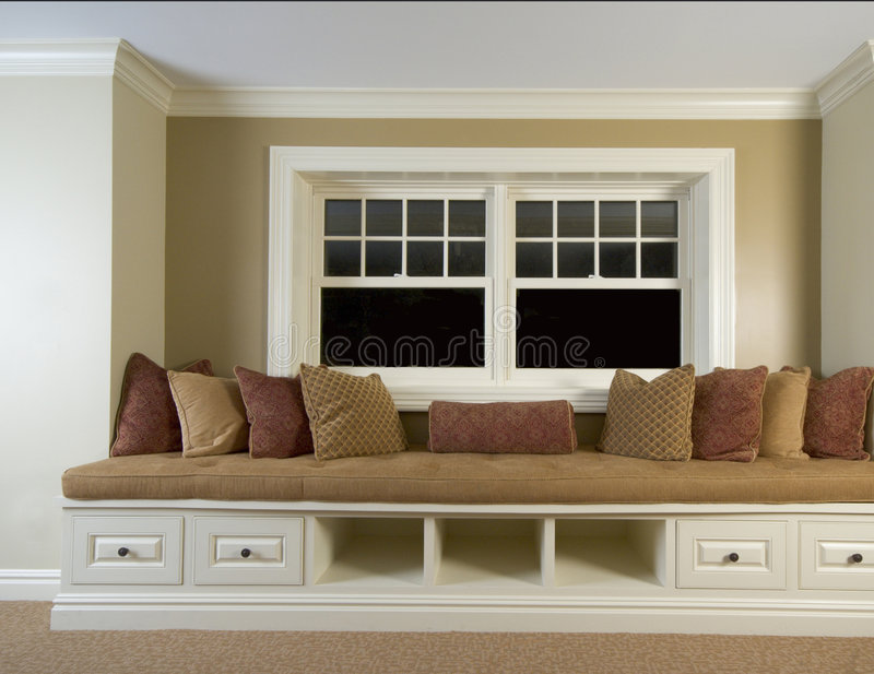 Download Custom Built In Bench Stock Images - Image: 1667674