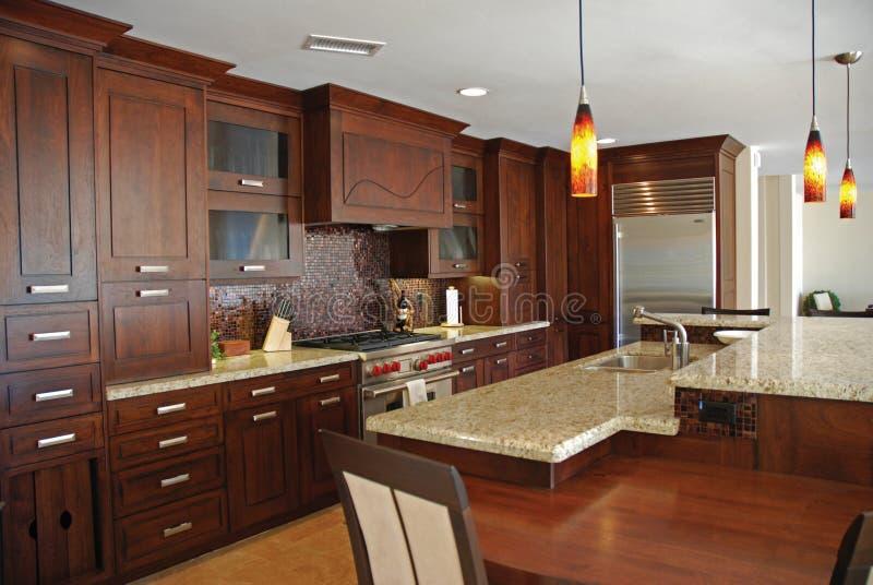 Download Custom-Built Kitchen stock image. Image of designed, design - 4346147