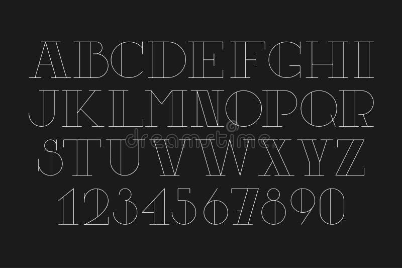 Custom cyrilic poster font. Bold contrast serif thin uppercase. stock photos