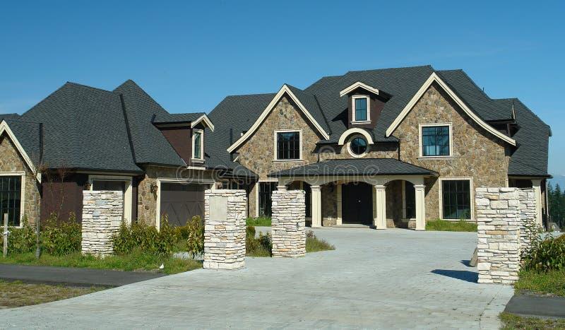 New Luxury Home stock image