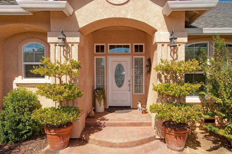 Custom Home And Garden Stock Images