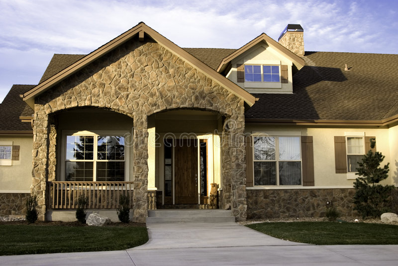 Download Custom Home I stock photo. Image of residence, luxury, custom - 421996
