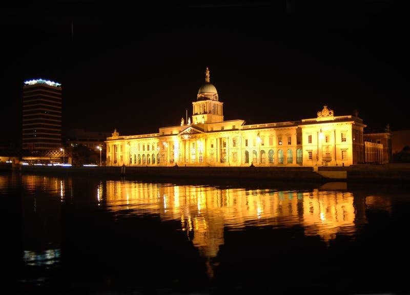 Custom house Dublin stock image