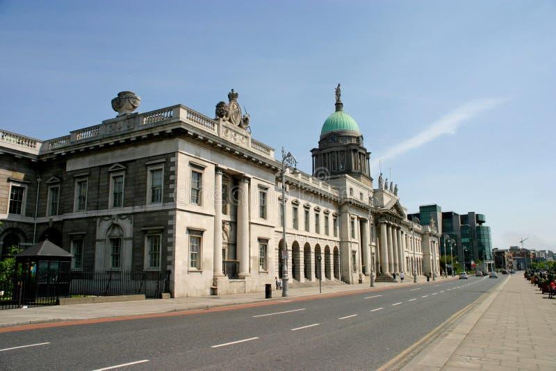Custom House, Dublin royalty free stock image
