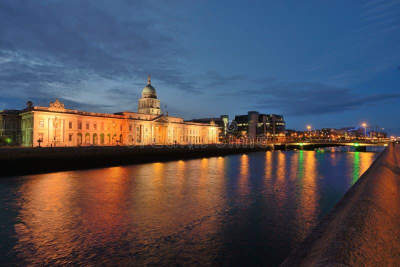 Custom House Dublin Ireland stock photo