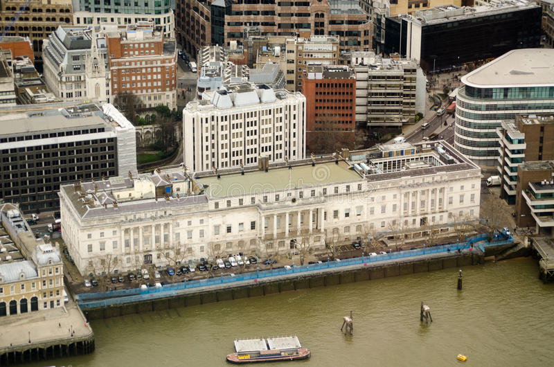 Download Custom House, London, From Above Stock Photos - Image: 29168103