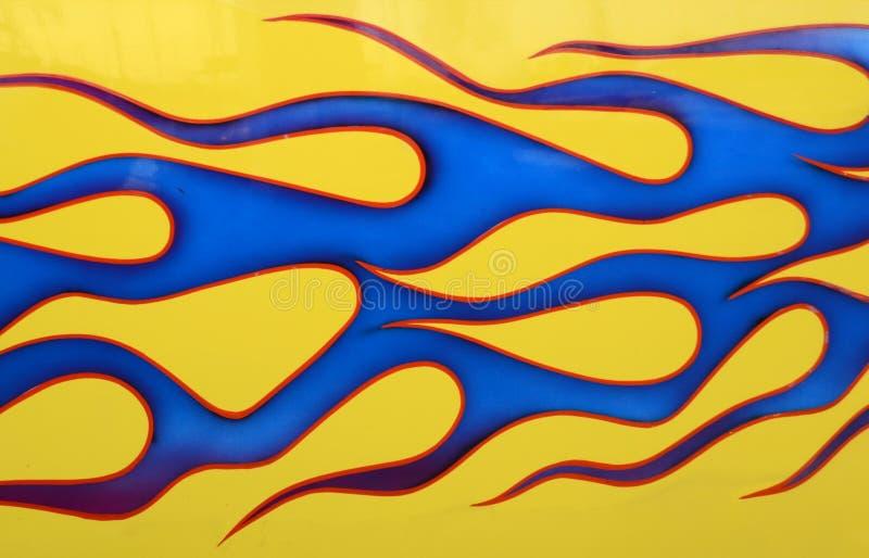 Download Custom Painted Car stock image. Image of flaming, custom - 29149179