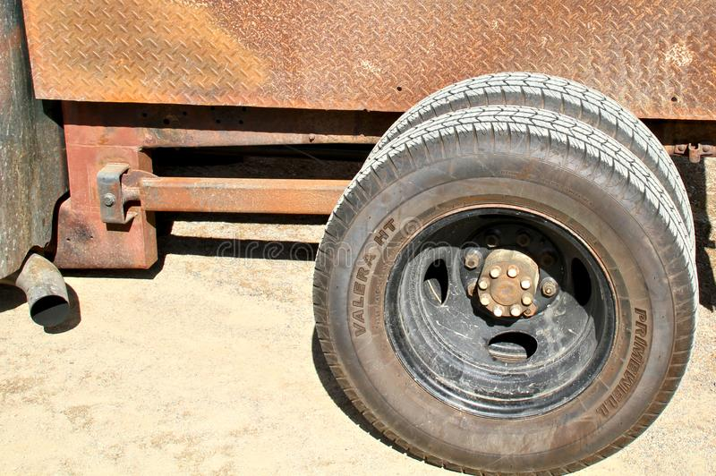 Custom rear axle royalty free stock images