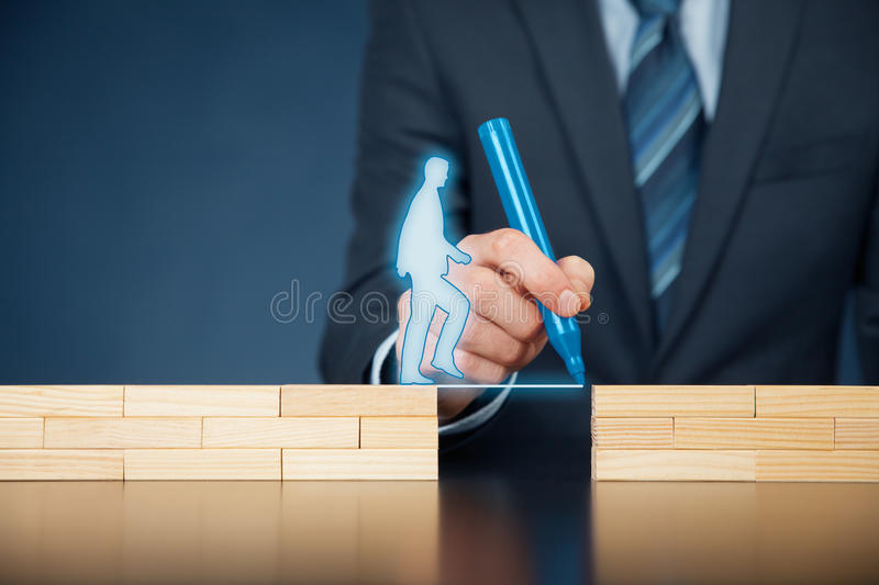 Customer care and support stock image