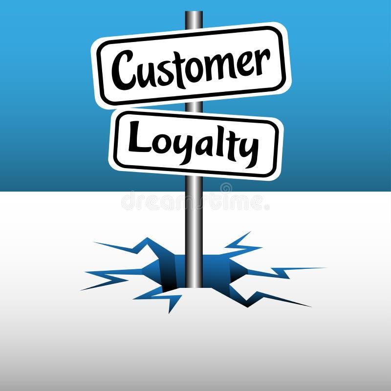 Customer loyalty plates royalty free illustration