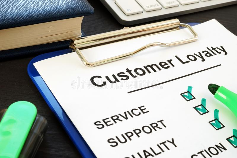 customer satisfaction service stock photo