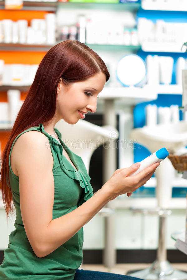 Download Customer In A Pharmacy Or Drugstore Shopping Stock Image - Image: 24653087