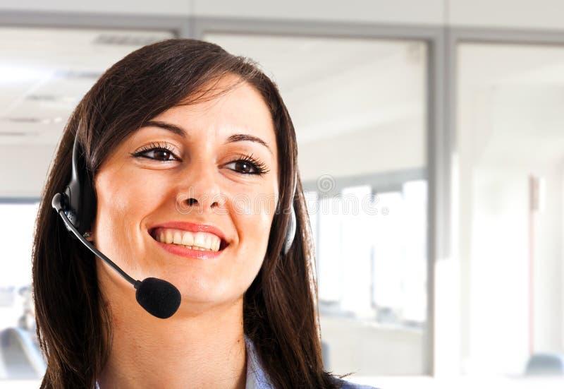Customer representative royalty free stock image