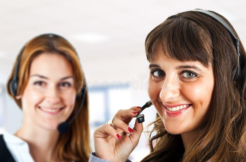 Customer representative stock images