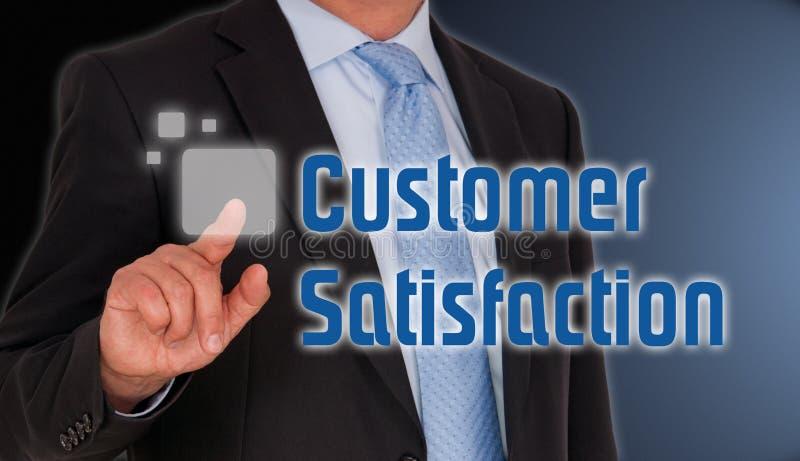 Customer satisfaction stock image