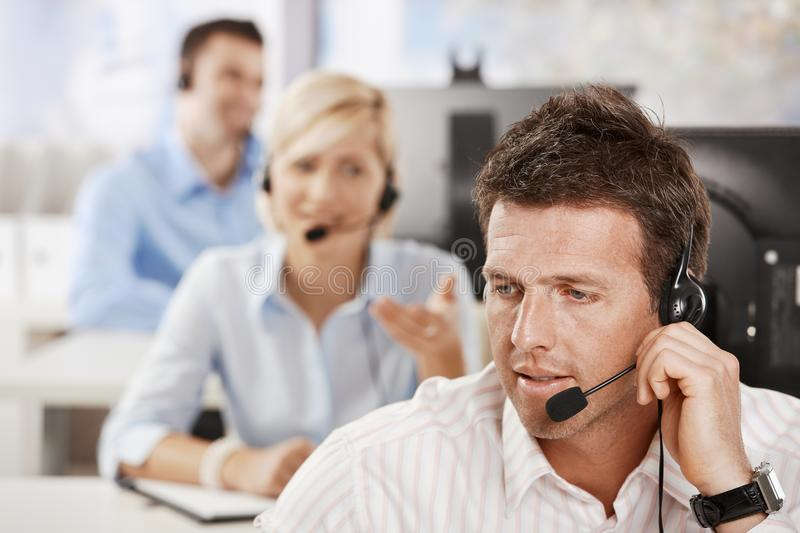 Download Customer service stock image. Image of male, dispatcher - 13227045