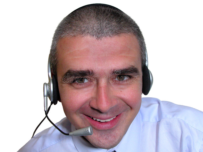 Download Customer service stock photo. Image of radio, masculine - 161102