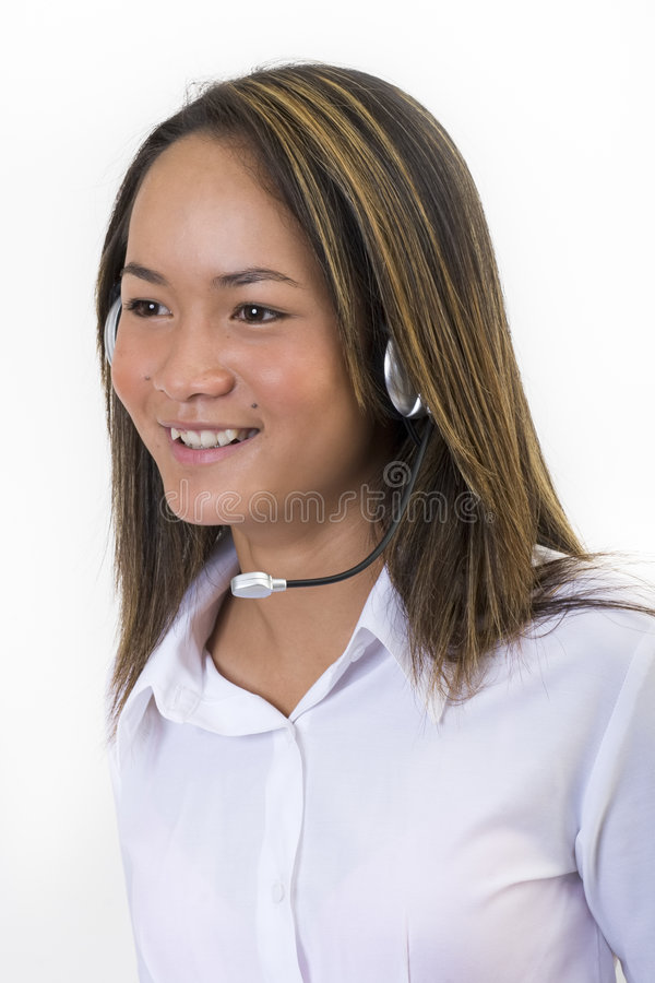 Customer service 2 stock image