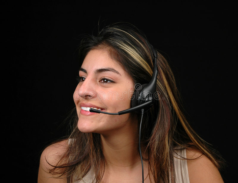 Customer service-2 stock image