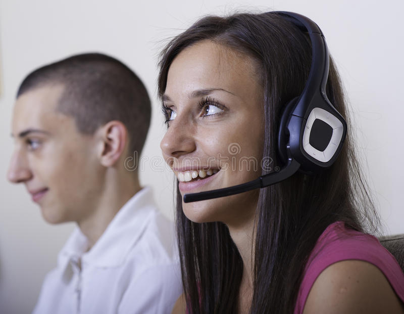 Download Customer service stock image. Image of customer, couple - 27729739