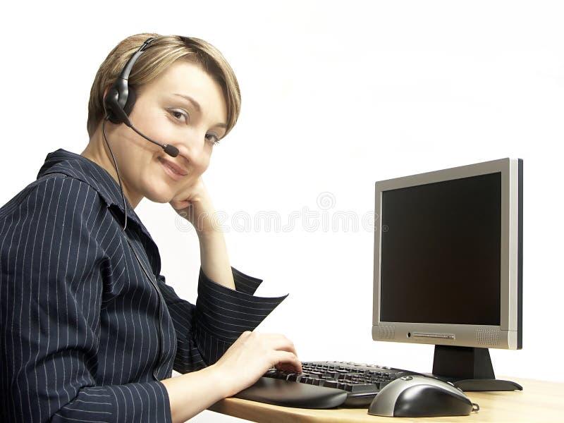 Customer service stock image