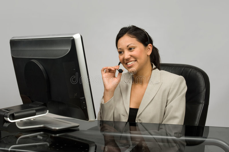 Download Customer Service stock photo. Image of sales, headset - 5123182