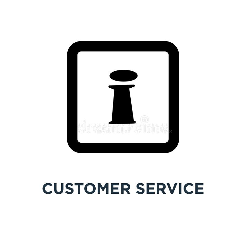 Customer service icons icon. customer support icons concept symb. Ol design, call center icons, help icons vector illustration royalty free illustration