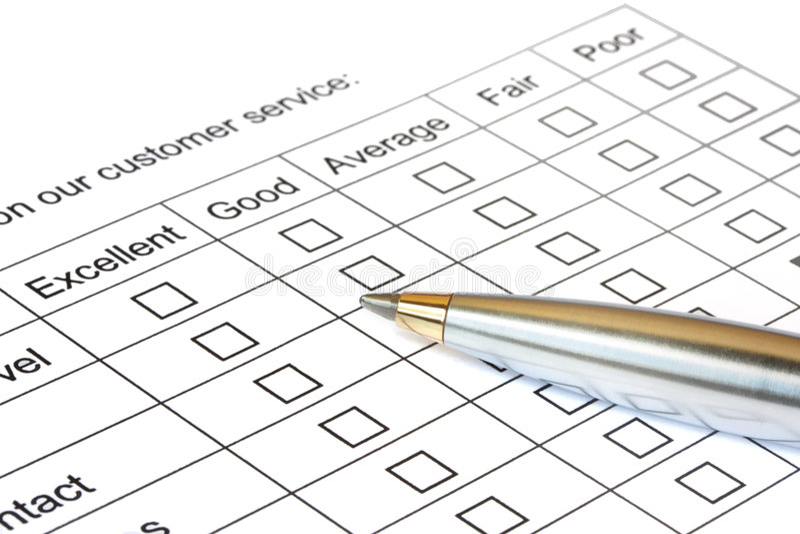 Customer Service Rating Royalty Free Stock Photos