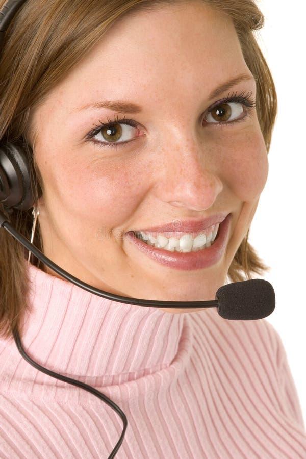 Download Customer Service Representative Stock Image - Image: 1434305