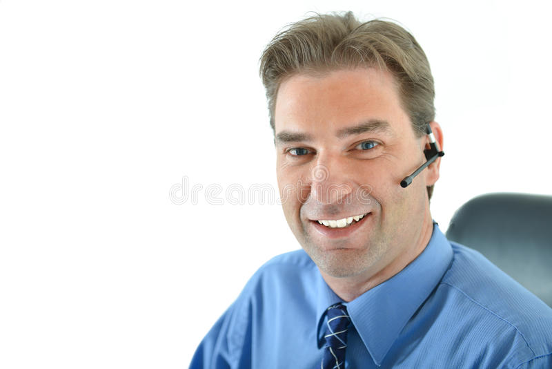 Download Customer Service Representative Stock Photo - Image of occupation, blue: 83719044