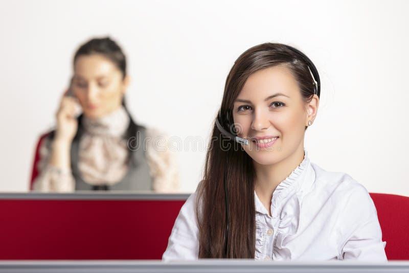 Customer service representatives stock image