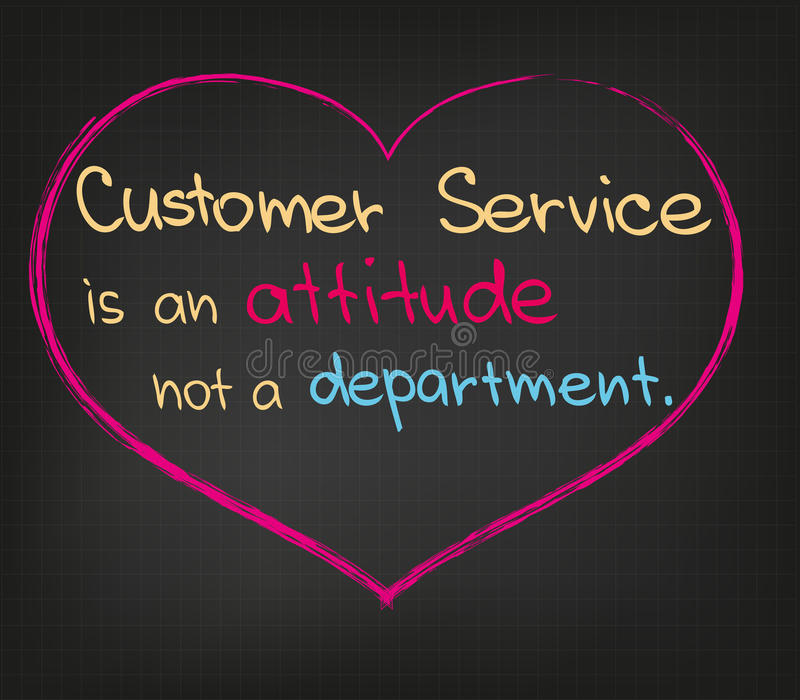 Customer Service stock illustration