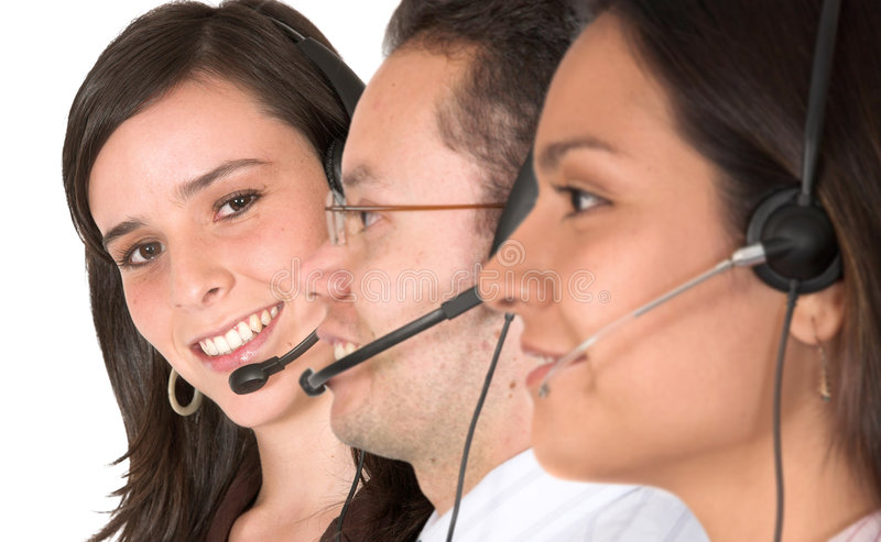 Download Customer service team stock photo. Image of mail, isolated - 1570962